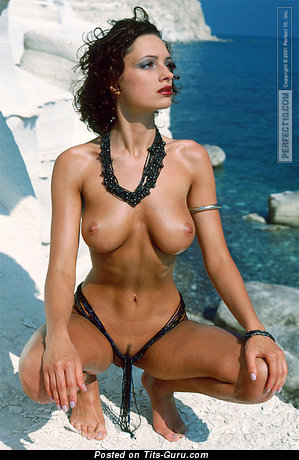 Image. Alexandra Berejnova - amazing female with medium natural breast picture
