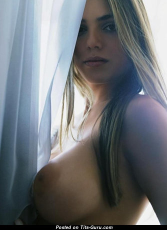 Beautiful Topless Floozy with Beautiful Naked D Size Tits (Xxx Wallpaper)