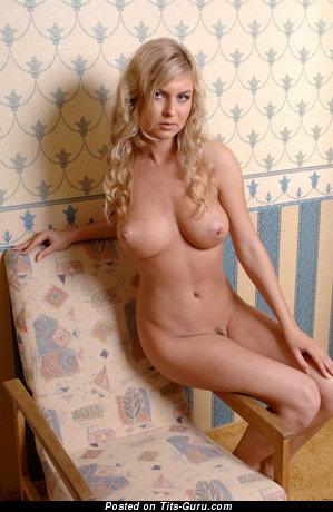 Image. Alphina Between Espeja - nude blonde with medium boob picture