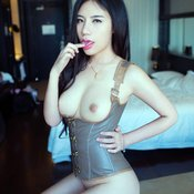 Yi Yao Feng - beautiful woman with natural tits photo