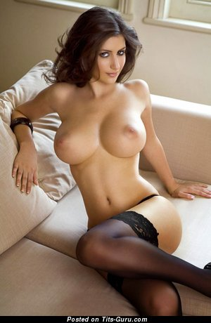 Katie Marie Cork - sexy nude awesome lady with medium tots photo