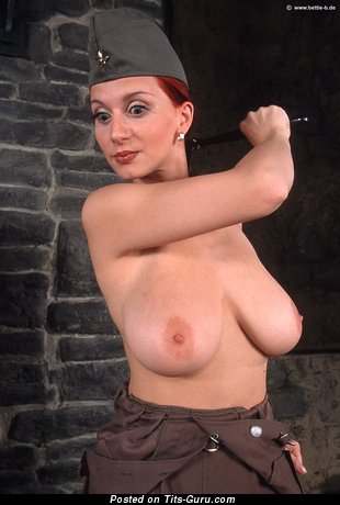 Image. Bettie Ballhaus - nude red hair with big natural tittes picture