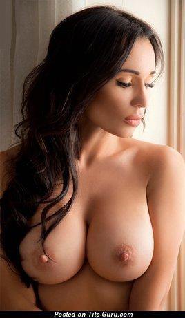 Eva Padlock - Beautiful Nude Brunette (Hd Xxx Wallpaper)