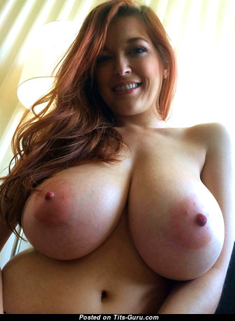 Tessa Fowler - Sexy Topless & Glamour American Red Hair Pornstar & Babe with Sexy Naked Natural I Size Tittys & Weird Nipples (Hd Sex Photoshoot)