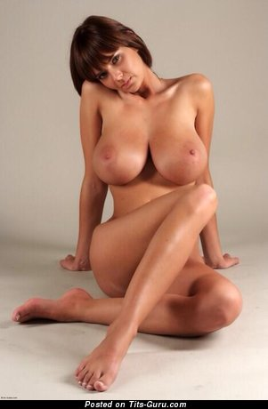 Image. Naked beautiful female with huge tittys image
