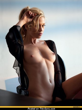 Image. Nude awesome woman with medium natural boobs photo