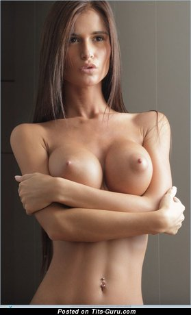 Image. Nude wonderful female with big fake tittys pic