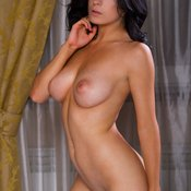 Emilia O - brunette with natural tittes image