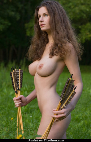 Image. Naked beautiful female with big natural tits photo