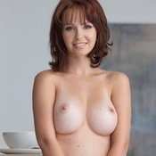 Wonderful lady with big natural tittes picture