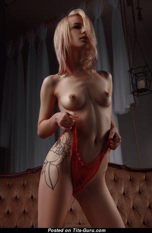Marvelous Naked Blonde (18+ Image) #blonde #boobs #tits #nude #erotic #сиськи #голая #эротика #titsguru
