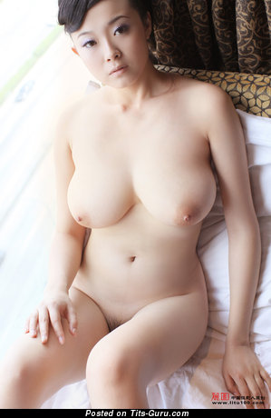 Image. Bing Yi - nude asian with natural boobies image