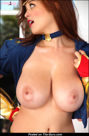 Tessa Fowler - Graceful Topless American Red Hair Pornstar & Babe with Graceful Open Real C Size Knockers & Huge Nipples (Hd 18+ Pix)
