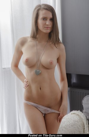 Image. Awesome girl with medium natural boobs image
