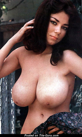 Pleasing Dame with Pleasing Defenseless Natural Ddd Size Boobie (Sexual Image)