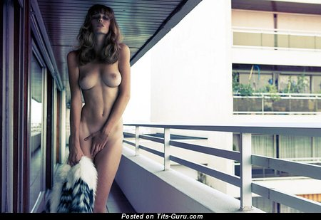 Image. Maria Germanova - nude nice lady with medium natural boob photo