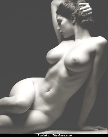 Exquisite Doll with Exquisite Bald Natural Substantial Boobs (Sexual Pix)