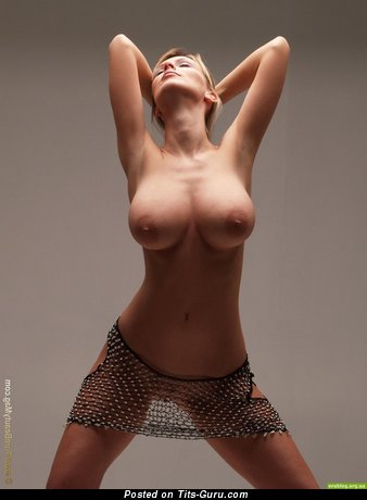 Image. Topless nice girl with big boobies photo