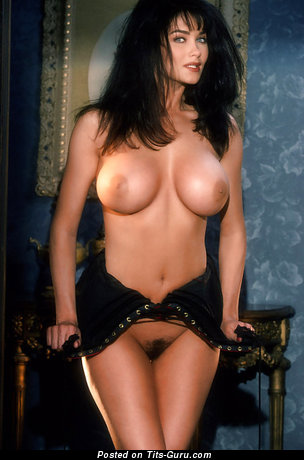 Image. Traci Adell - naked brunette with medium boobs vintage