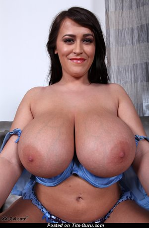 Image. Leanne Crow - nude brunette with huge natural boobs pic