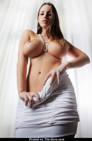 Image. Nude hot girl with huge fake breast pic