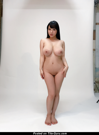 Kaho Shibuya - Adorable Japanese Red Hair Pornstar with Adorable Open Real Mega Tittes & Large Nipples is Undressing (Hd Sex Foto)