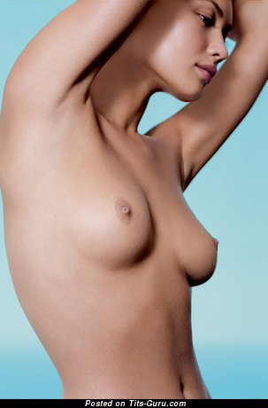 Olga Kurylenko - naked wonderful female with medium natural breast picture