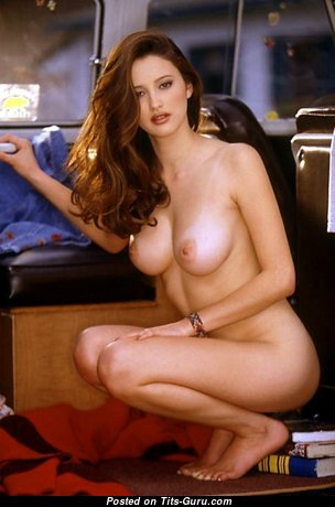 Brooke Berry - Nice Canadian Playboy Red Hair Girlfriend & Babe with Nice Nude Natural Jugs (Hd Sexual Wallpaper)