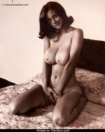 Image. Hildy - nude amazing female with big natural boobs vintage