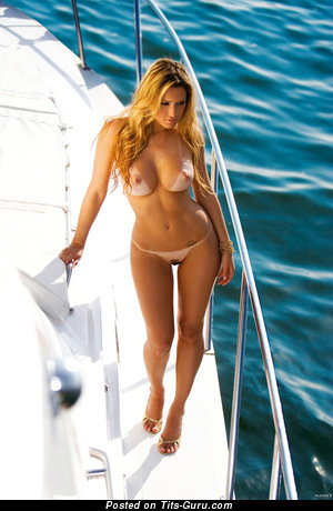 Image. Larissa Saloio - naked blonde with big tittes image