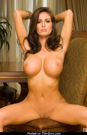 Marvelous Brunette with Marvelous Open Silicone Big Sized Breasts (Hd Sexual Photoshoot)