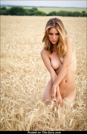 Image. Naked awesome woman with natural breast photo