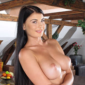 Lucy Li - sexy brunette with big tittys photo