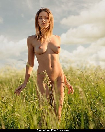 Image. Hot female with natural boobs image