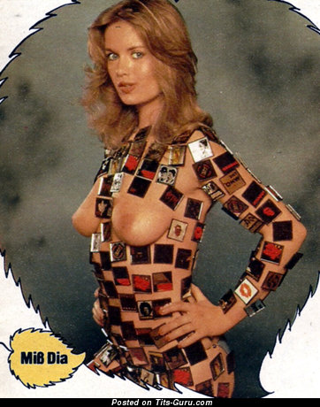 Georgie Steer - nude beautiful woman with medium natural boob vintage