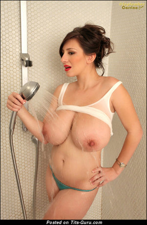Image. September Carrino - nude awesome woman with huge natural tots picture