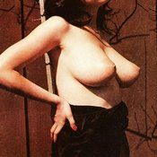 Debbie Golemis - sexy hot lady with natural boobies vintage