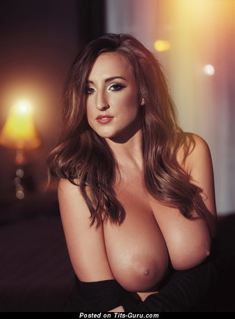 Image. Nude nice girl with big natural breast picture