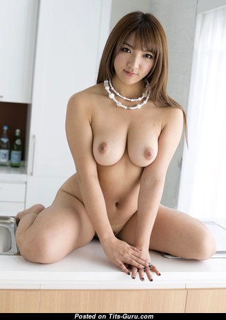Shiori Kamisaki - Sexy Asian Escort Brunette with Sexy Bald Real Hooters (Hd Porn Picture)