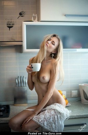 Image. Naked hot girl with medium tots photo