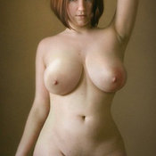 Awesome girl with big natural breast picture