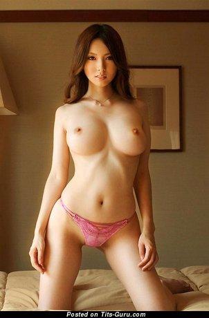 Image. Alna Hemcova - sexy nude asian brunette with medium breast photo