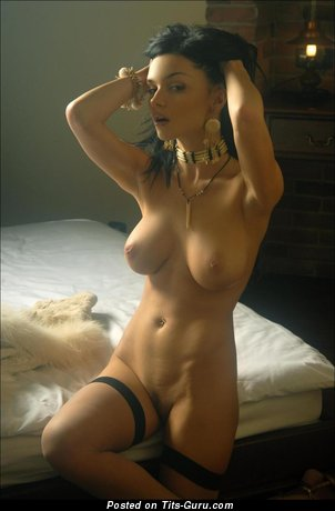 Image. Naked amazing female with medium natural tittes photo
