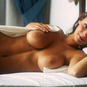 Amazing female with big boob image