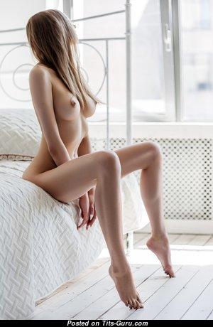 Elegant Babe with Elegant Nude Average Tots (Hd 18+ Pix)