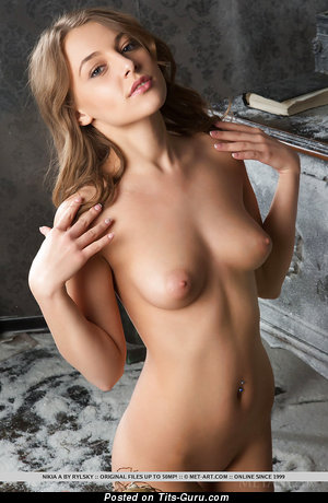 Image. Nikia A - naked nice female with medium natural tittys pic