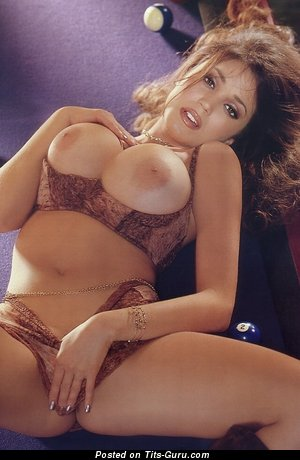 Miriam Gonzalez - Amazing Puerto Rican, American Playboy Babe with Amazing Bare Big Balloons (Sexual Picture)