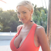 Blonde with huge tittys picture