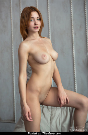 Image. Valeria - nude wonderful woman with medium natural breast pic