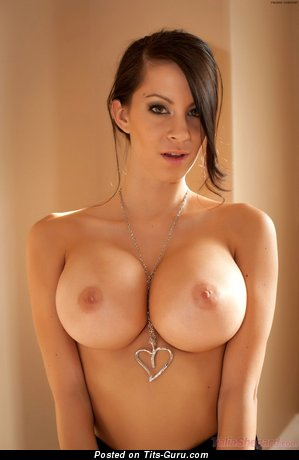 Gorgeous Gal with Gorgeous Open Silicone Very Big Melons (Hd Sexual Pic)